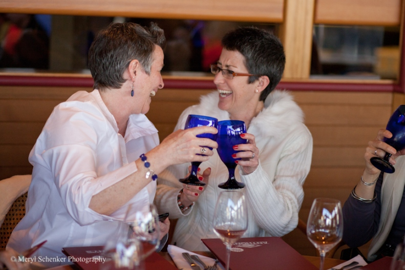 Dayna and Tammy get married after 29 years together.